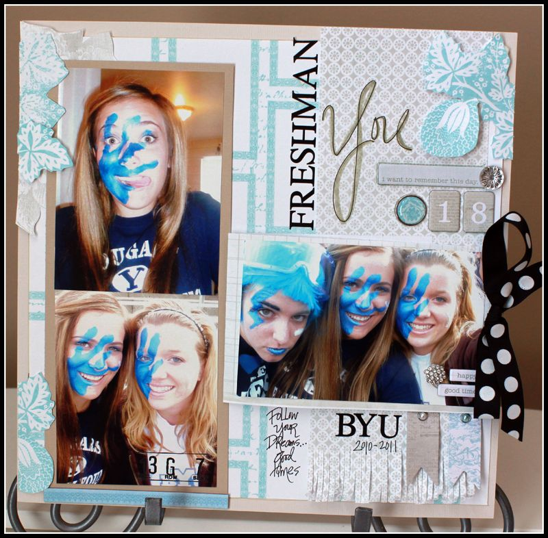 Sweet afternoon- byu freshman