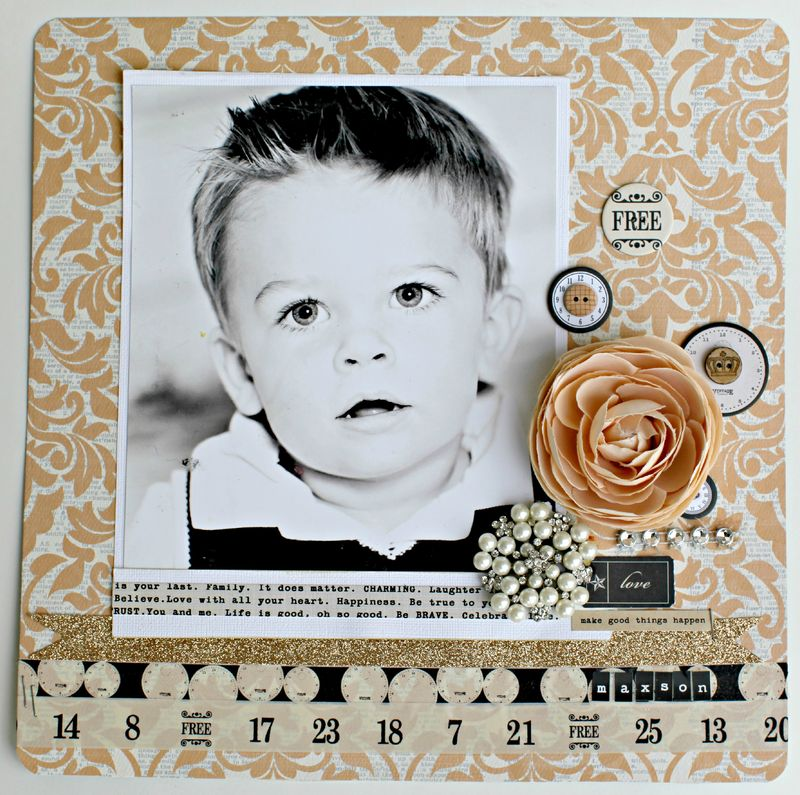 Blog VINTAGE FINDS- free layout teresa collins