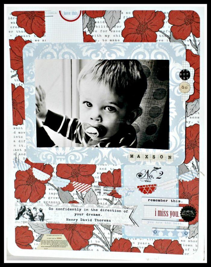 4. Stationery-  I MISS YOU MAXSON