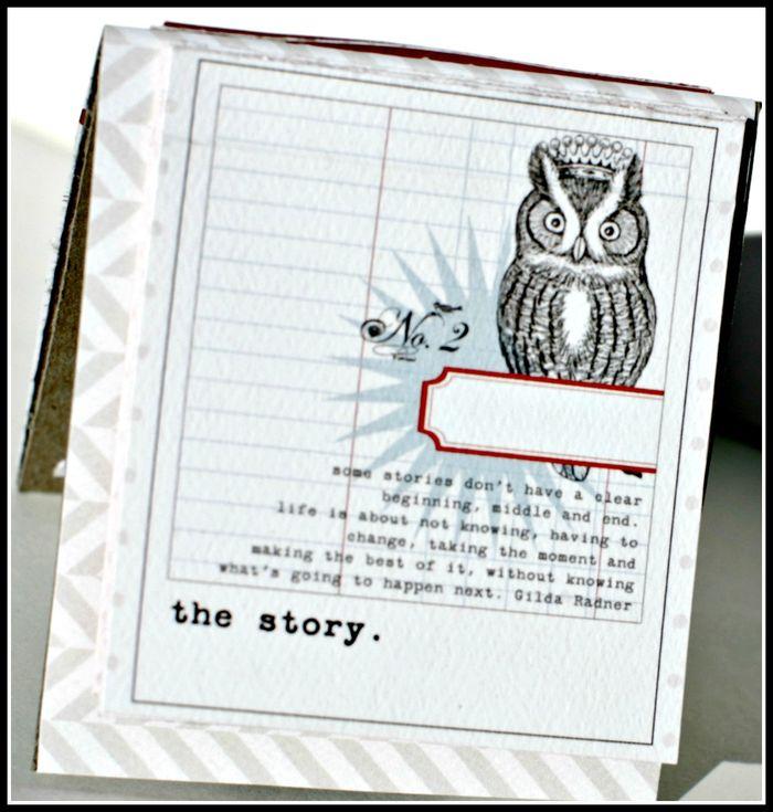4. Stationery- THE STORY flip up cards