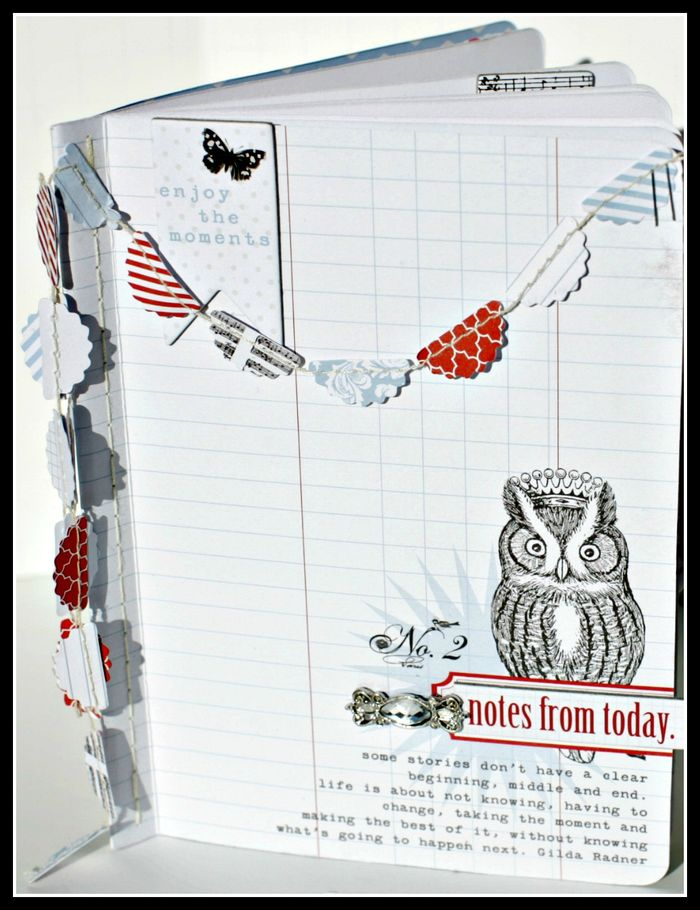 4. Stationery- NOTES FROM TODAY book