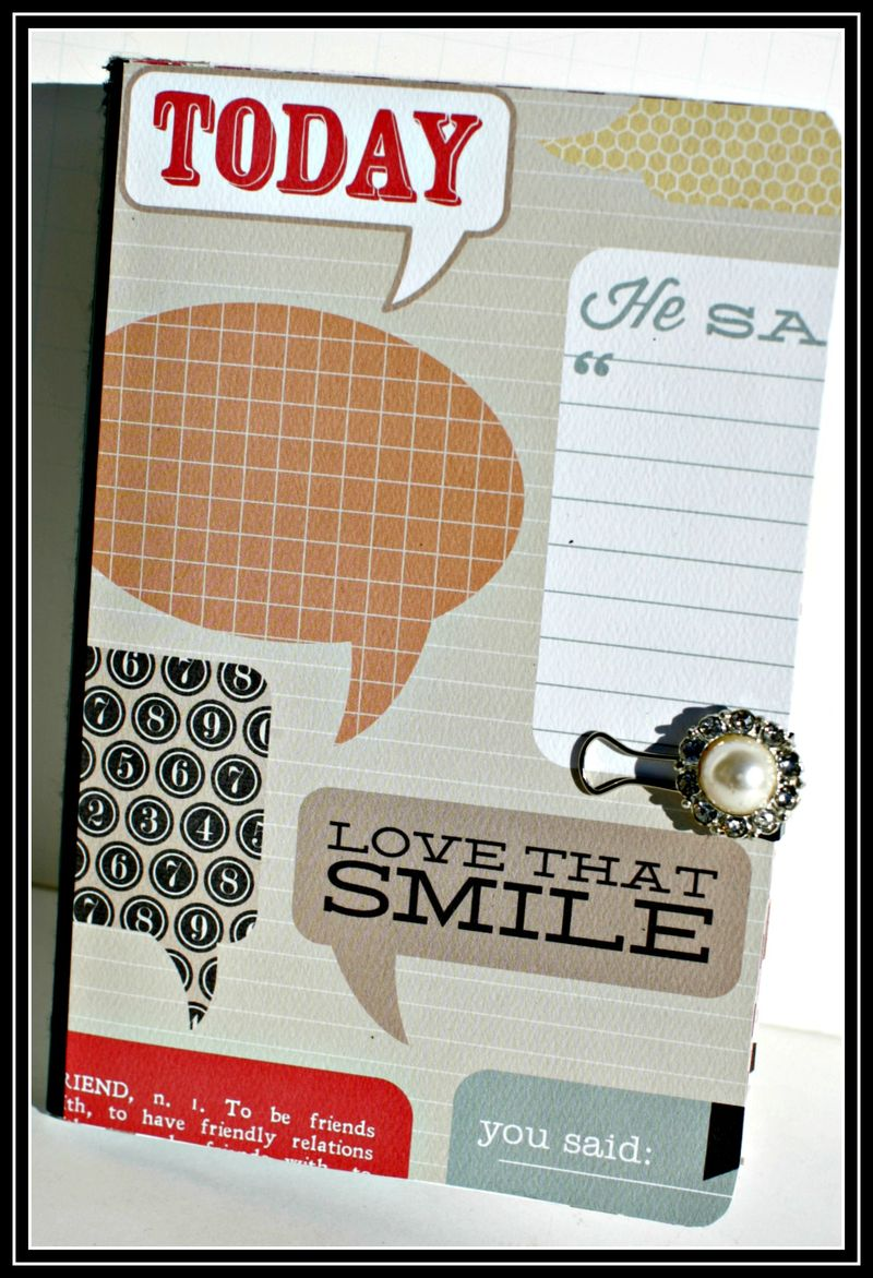 2. HE SAID- notebook covered cover