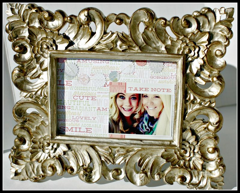 4. SHE SAID- take note photo frame