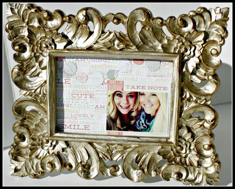 4. SHE SAID- take note photo frame