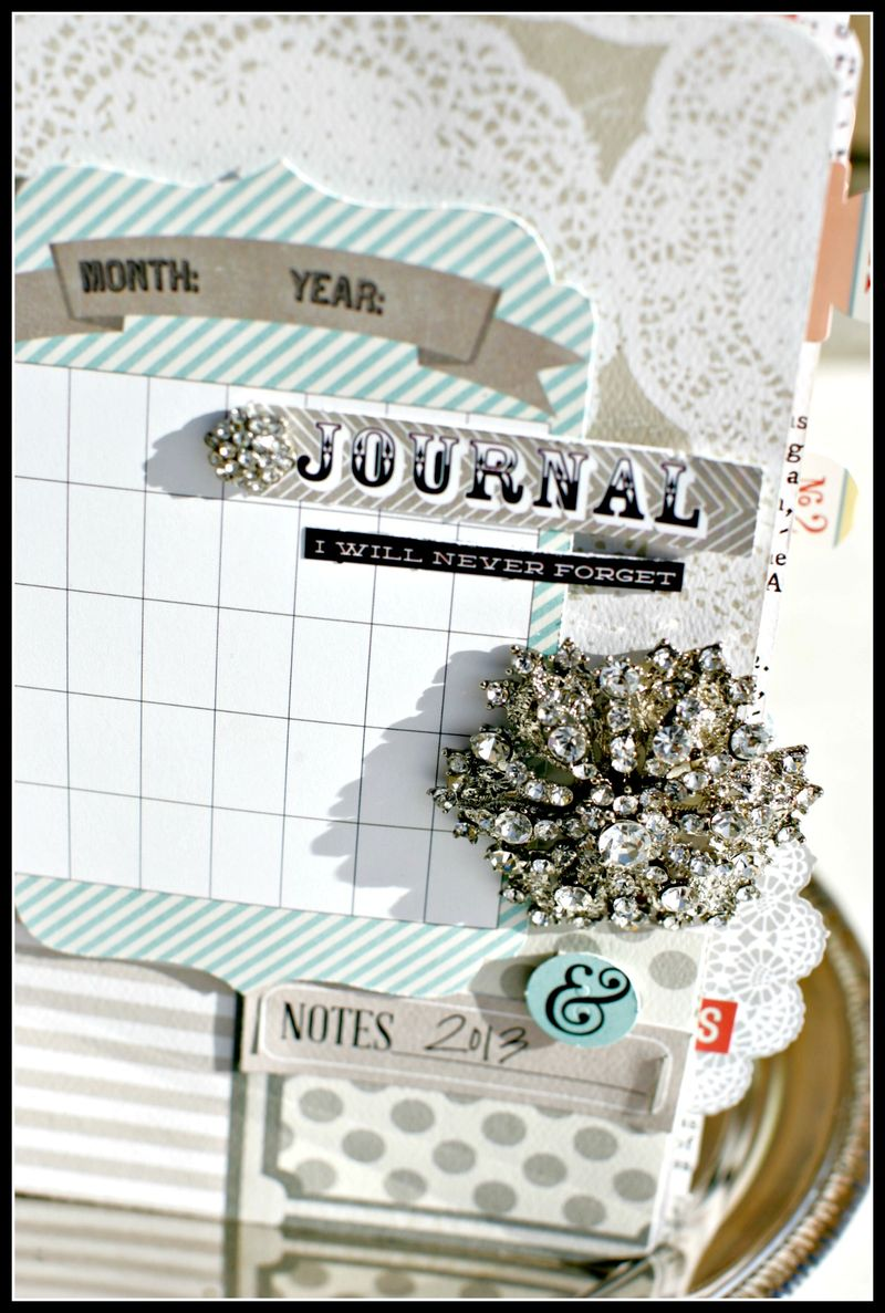 MEMORY JOURNAL cover upclose