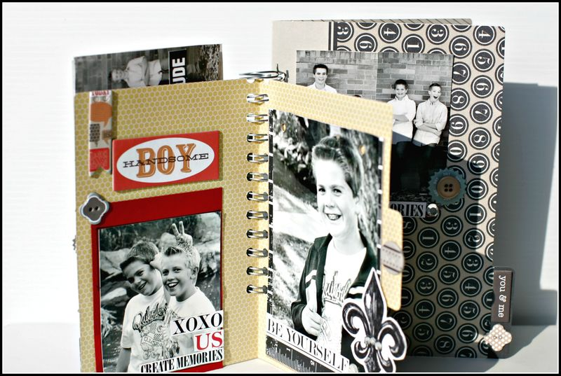 He said- NOTED family file folder book view 2