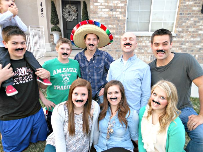FAMILY MUSTACHES 1