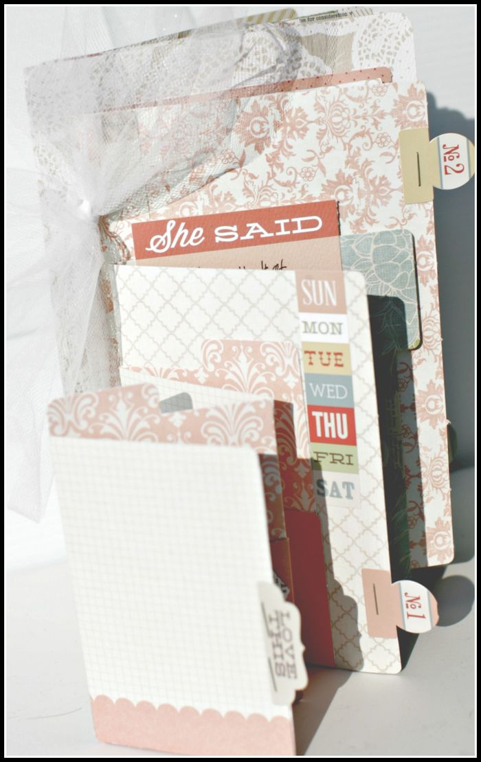 He Said She Said- FILE FOLDER retailer kit books view 5