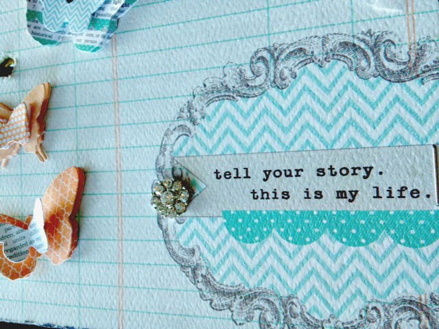 Tell your story class she scrapbooks