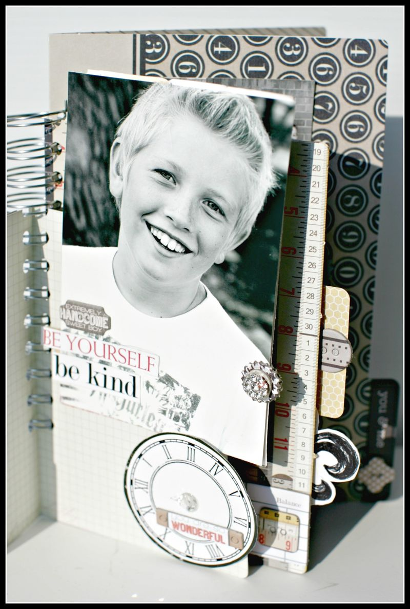 He said- NOTED family file folder book view 1