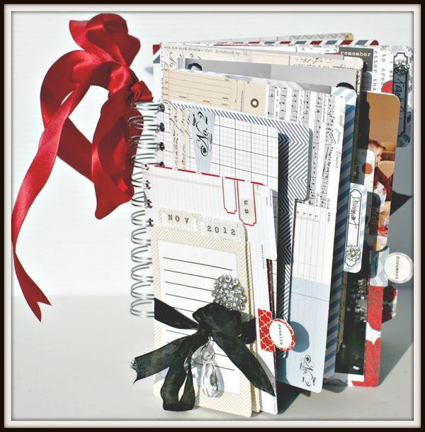 Stationery- NOV 2012 book cover FILE FOLDER BOOK