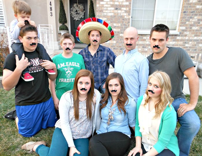 FAMILY MUSTACHES 2