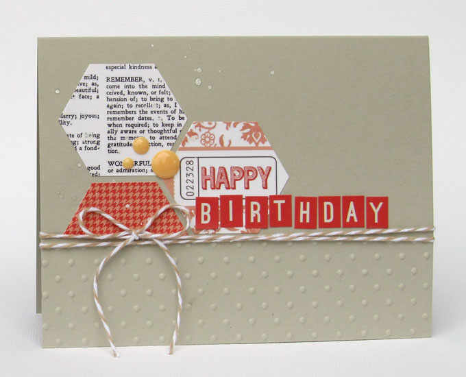 Hexagonal-Birthday-Card