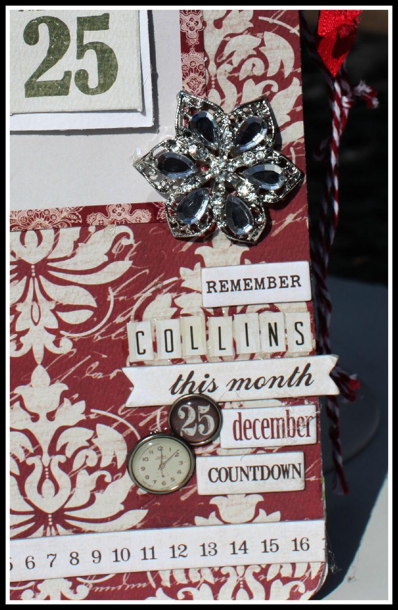 CHRISTMAS COUNTDOWN upclose