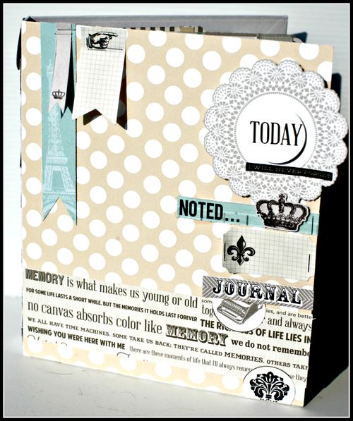 MEMORIES memory binder retailer kit cover