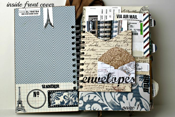 Far & Away Inside cover envelopes