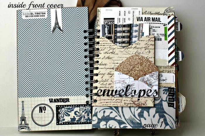 Far & Away Inside cover envelopes