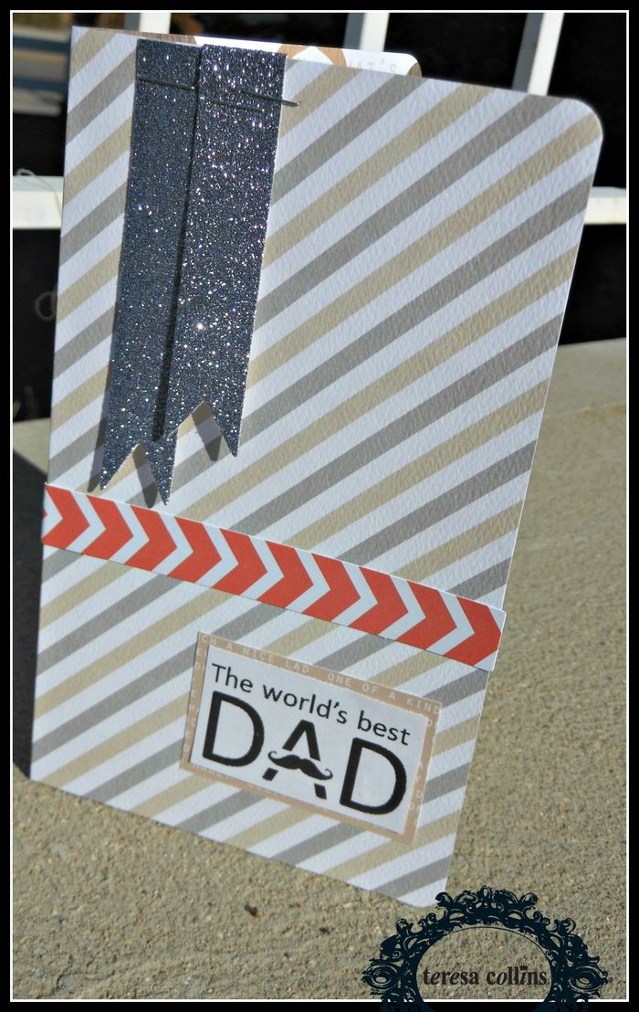 The Worlds BEST Dad Card