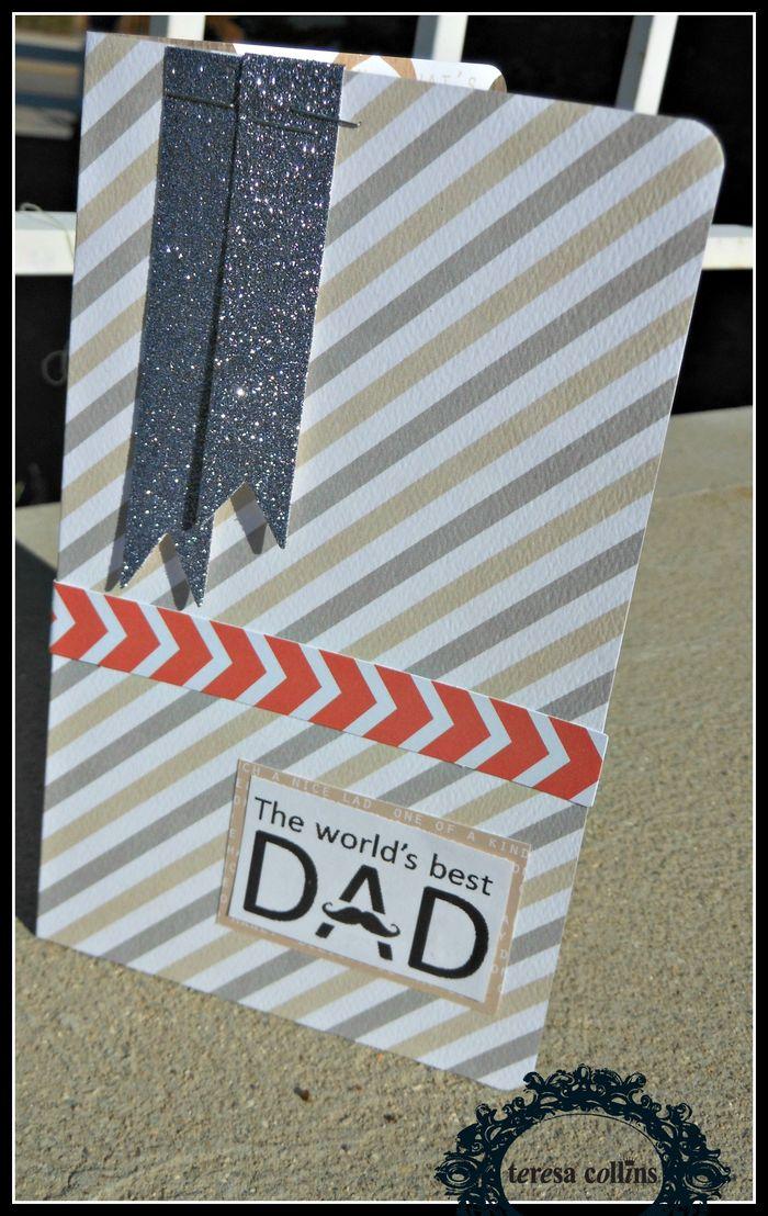 The Worlds BEST Dad Card