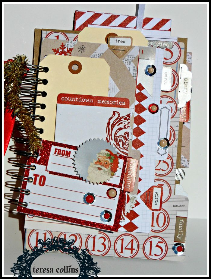 SANTA's LIST FILE FOLDER COVER