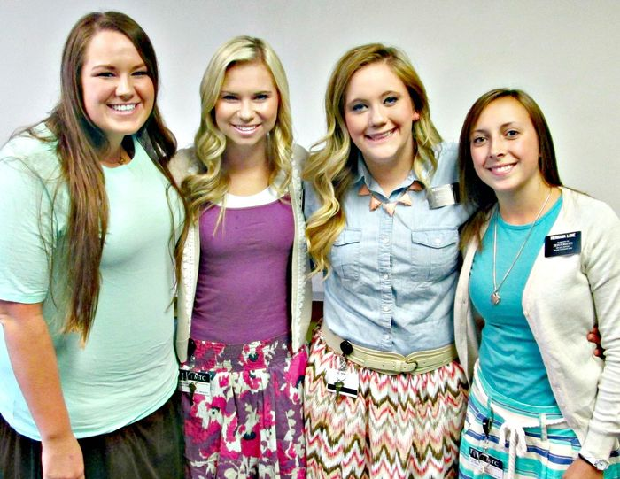 Mckay and three sister missionaries