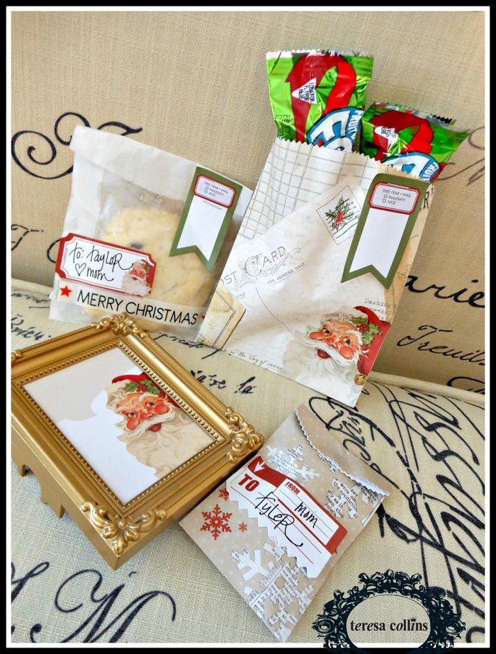Santa's list TCD treat bags