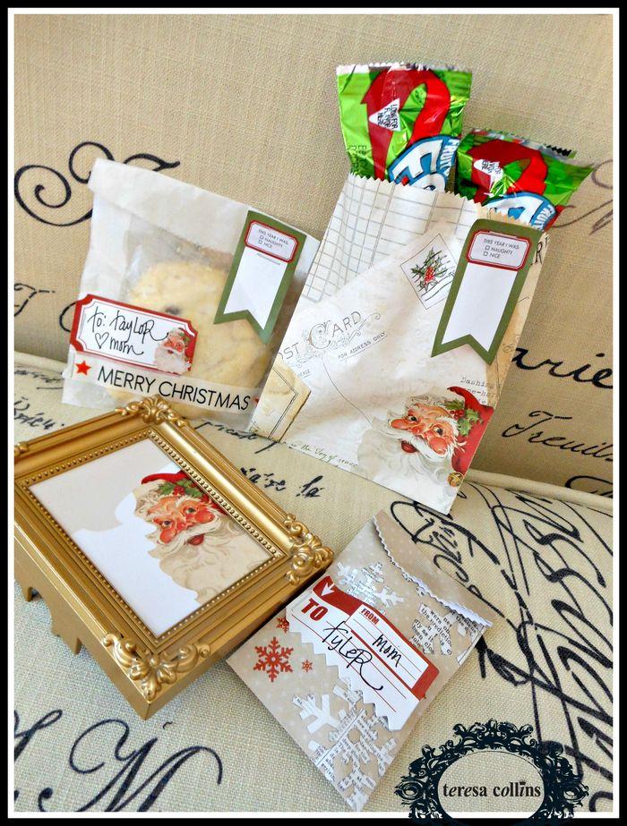 Santa's list TCD treat bags