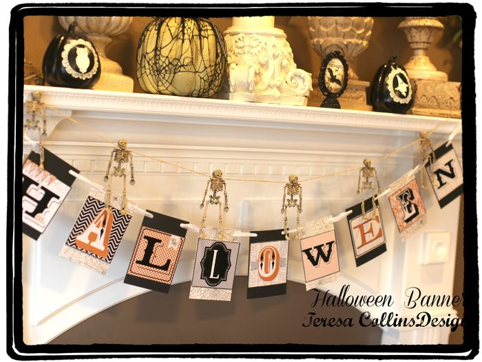 Halloween banner kit