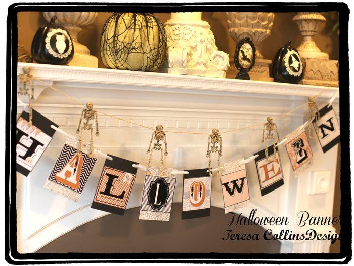 Halloween banner kit
