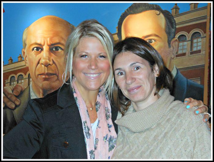 Patricia de Lago and me
