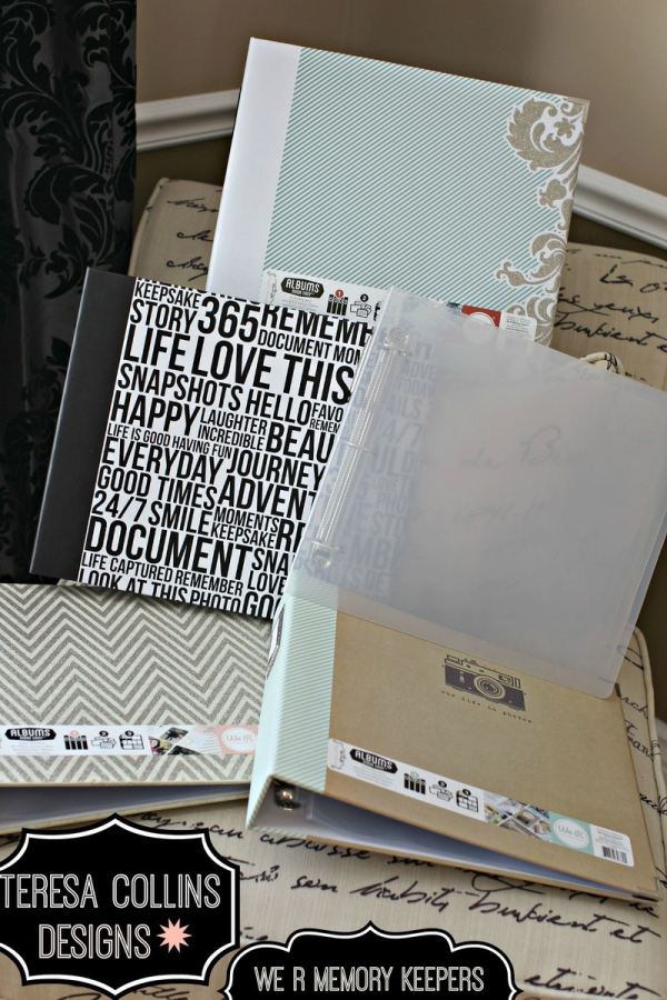 Teresa Collins We R MEMORY KEEPER 12x12 albums