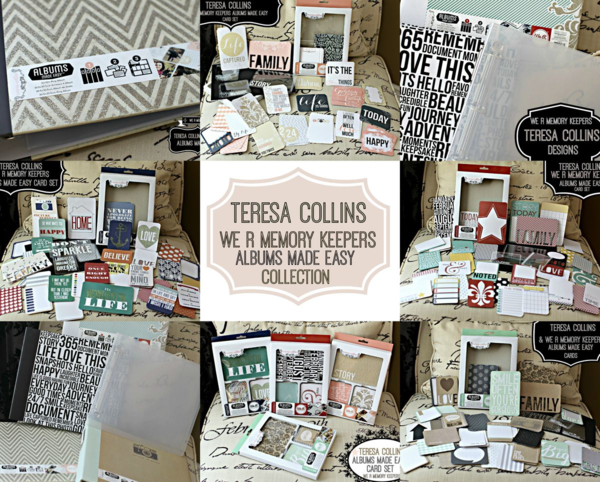 Teresa Collins We R Memory Keeper Collection FULL SET collageCollage