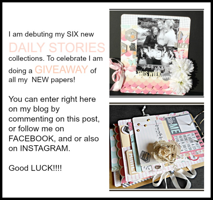 Daily stories blog giveaway Collage