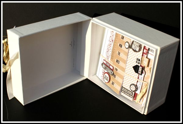 LUCKY BOOK BOX OPENED FULL VIEW