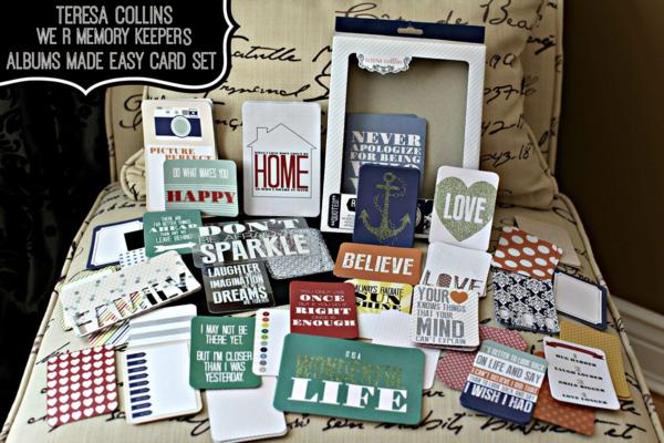 Teresa Collins We R Memory Keeper Card Set 3
