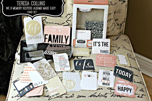 Teresa Collins We R Memory Keeper Albums Made Easy Card Set #1