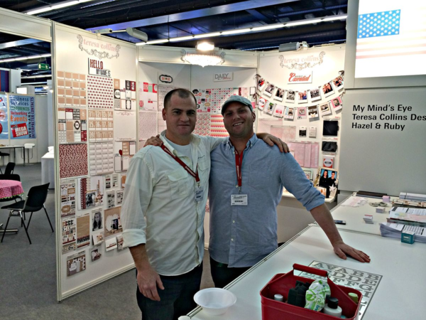 Sean Teresa Collins Design and Jason MME in Germany
