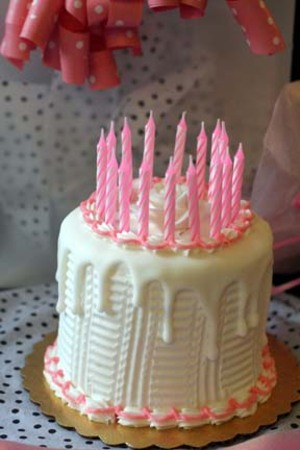 The Sweety Of Small Birthday Cake Just For Birthday
